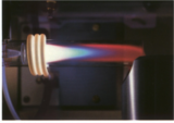 Imagebild zum ICP-MS-Labor (Plasmaflamme)