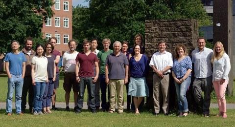 Team der Arbeitsgruppe Marine Klimaforschung